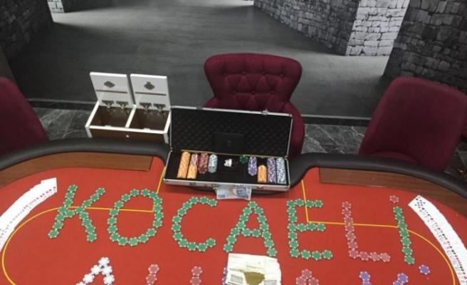 Kocaeli'de kumar oynayan 21 kişi hakkında cezai işlem uygulandı