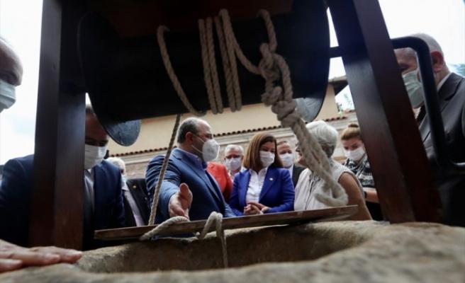 Sanayi ve Teknoloji Bakanı Varank, Edirne'de müze açılışında konuştu: