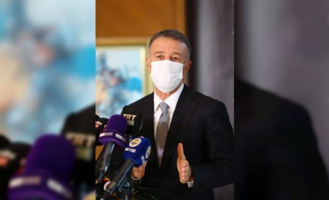 Süper Lig Kulüpler Birliği Vakfında yeni başkan Ahmet Ağaoğlu oldu