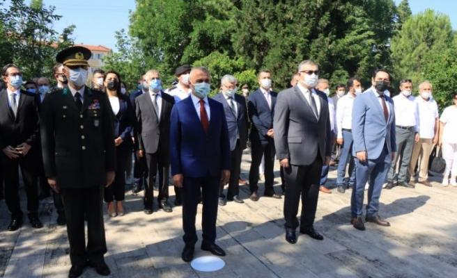 Trakya'da 15 Temmuz Demokrasi ve Milli Birlik Günü dolayısıyla şehit kabirleri ziyaret edildi