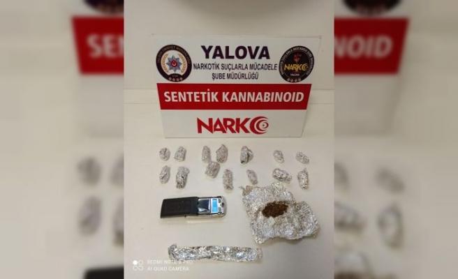 Yalova'da düzenlenen uyuşturucu operasyonlarında yakalanan 5 şüpheli tutuklandı