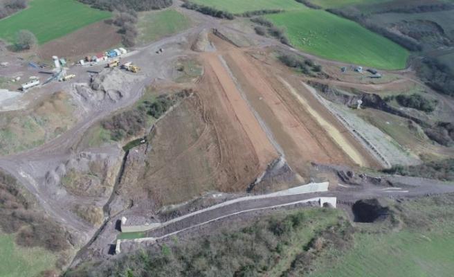 Kocaeli'de yapımı süren İnebeyli Göleti'nin, ekonomiye yılda 26,6 milyon lira katkı sağlaması hedefleniyor