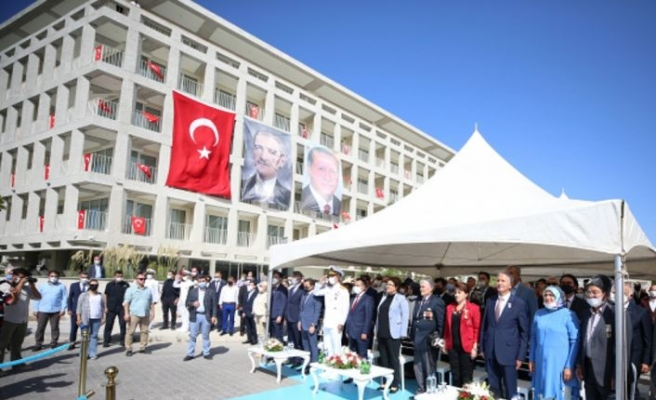 Bakan Derya Yanık, Çanakkale Şehit Yakınları ve Gazievi'nin açılışında konuştu: