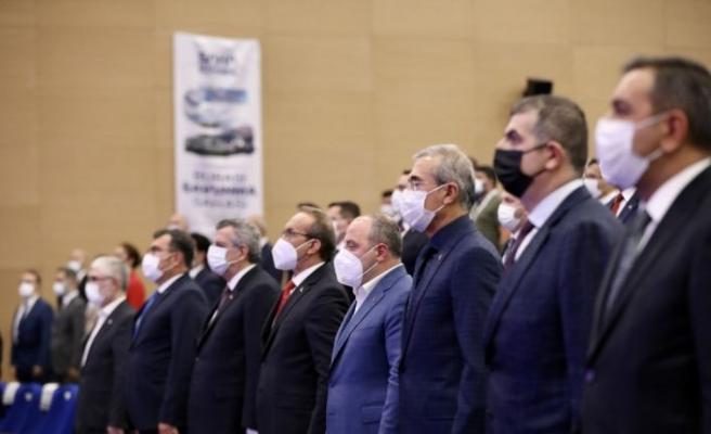 Bakan Varank SAHA İstanbul 4. Olağan Genel Kurulu'nda konuştu