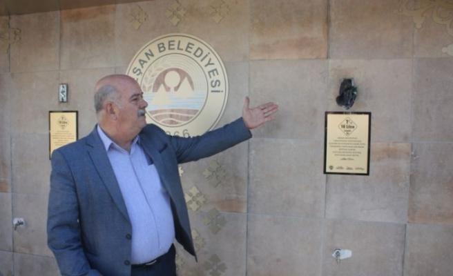 Edirne'de akarından elde edilen geliri burs olacak dağıtılacak çeşmeye zarar verildi