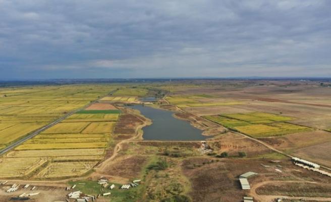 Edirne'de üreticiler sulama maliyetini düşürecek proje için gün sayıyor