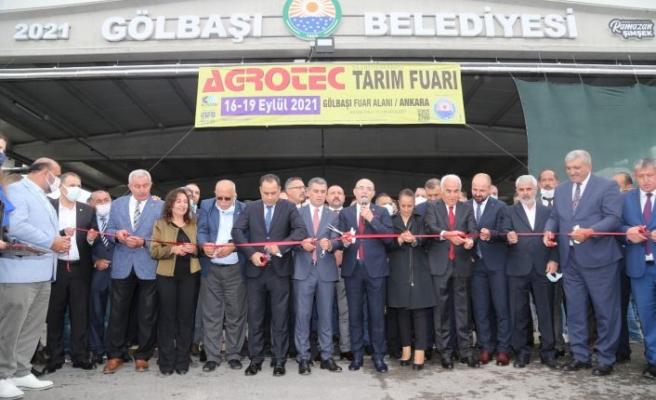Gölbaşı Belediyesi AGROTEC Tarım Fuarı ile Yerli ve Yabancı Turistleri Ağırladı