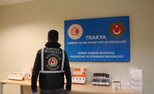 Kapıkule'de gümrük muhafaza ekipleri kaçakçılara geçit vermiyor