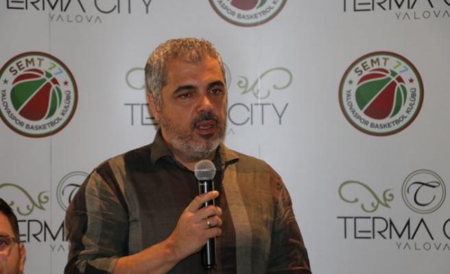 Terma City ING Basketbol Süper Ligi'nin yeni ekibi Semt77 Yalovaspor'a sponsor oldu