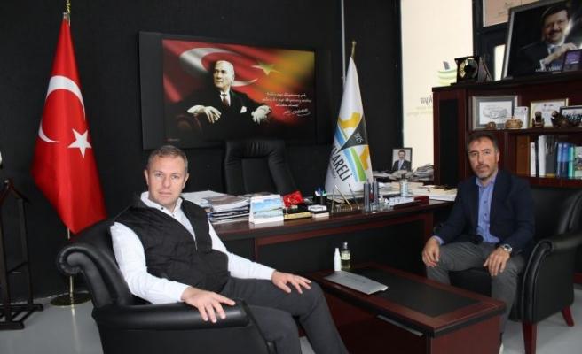 Türk Patent ve Marka Kurumu Daire Başkanı Tamer Ayar'ı ağırladı
