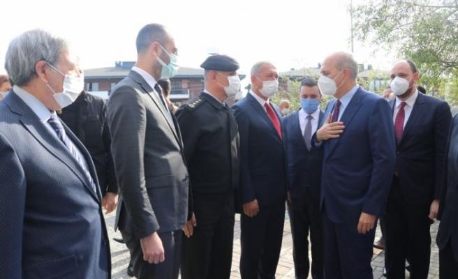 AK Parti'li Kurtulmuş Yalova Üniversitesinin yeni akademik yıl açılışında konuştu