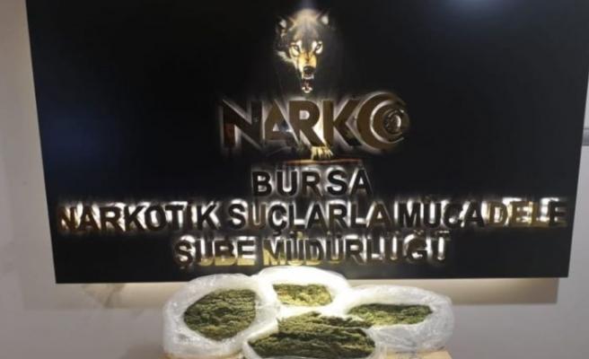 Bursa'da uyuşturucu operasyonunda 7 şüpheli yakalandı