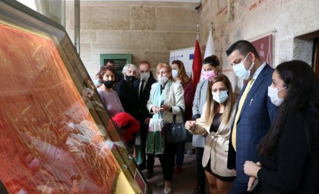 Edirne'de Osmanlı mirası 9 sancak onarılarak sergilenmeye başlandı
