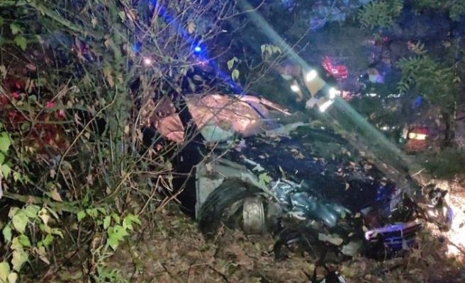 Kırklareli'nde trafik kazasında Çin uyruklu 1 kişi öldü 4 kişi yaralandı