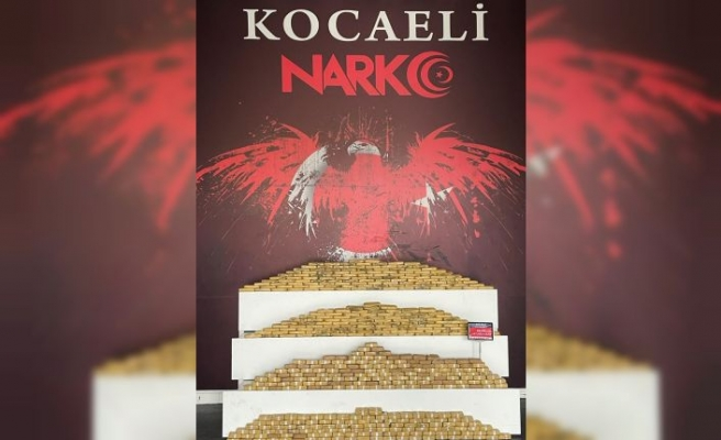 Kocaeli'de 2 tırda 107 kilogram eroin ele geçirildi