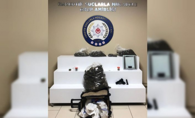 Kocaeli'de düzenlenen uyuşturucu operasyonunda bir şüpheli tutuklandı