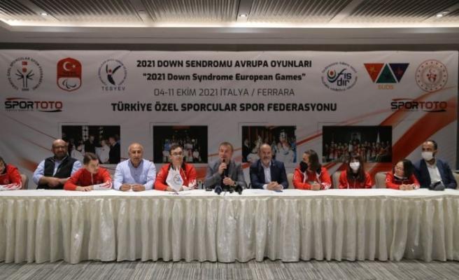 Özel sporcular2021 Down Sendromu Avrupa Şampiyonası'na hazır