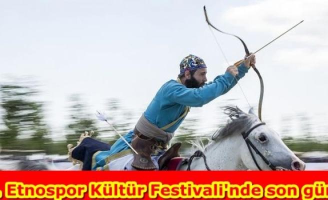 3. Etnospor Kültür Festivali'nde son gün