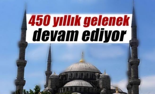 450 yıllık gelenek devam ediyor