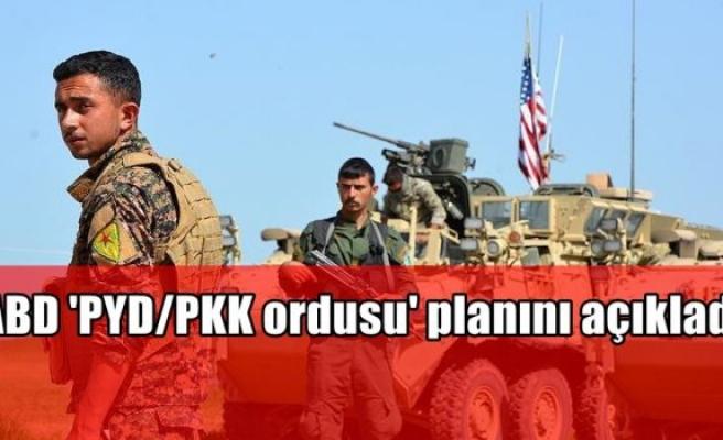 ABD 'PYD/PKK ordusu' planını açıkladı