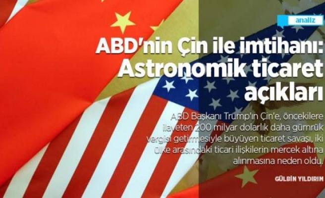 ABD'nin Çin ile imtihanı: Astronomik ticaret açıkları