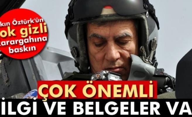 Akın Öztürk'ün İzmir'deki çok gizli karargahına baskın
