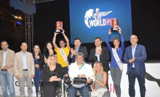 Alanya'da Gerçekleştirilen Wings For Lifi World Run Koşusu Sonuçlandı