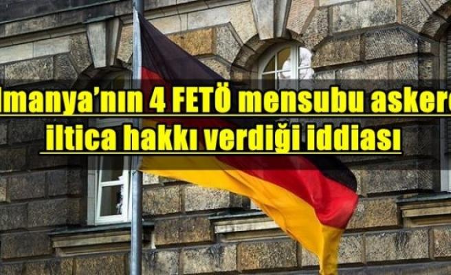 Almanya'nın 4 FETÖ mensubu askere iltica hakkı verdiği iddiası