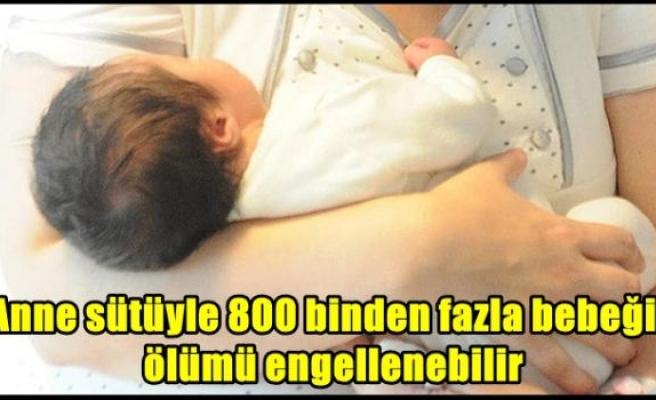 Anne sütüyle 800 binden fazla bebeğin ölümü engellenebilir