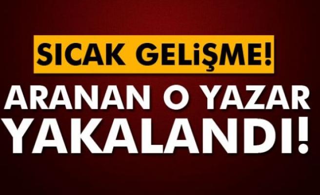 Aranan yazar Ali Bulaç yakalandı!