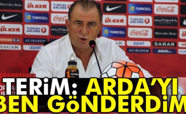 ARDA'YI BEN GÖNDERDİM!