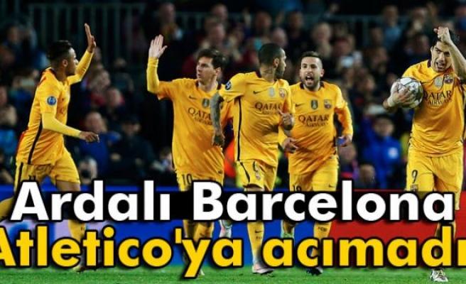 Atletico kızardı Barcelona galip ayrıldı