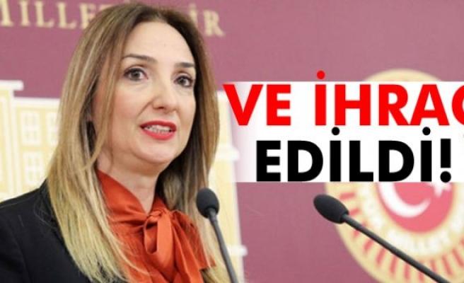 Aylin Nazlıaka partisinden ihraç edildi