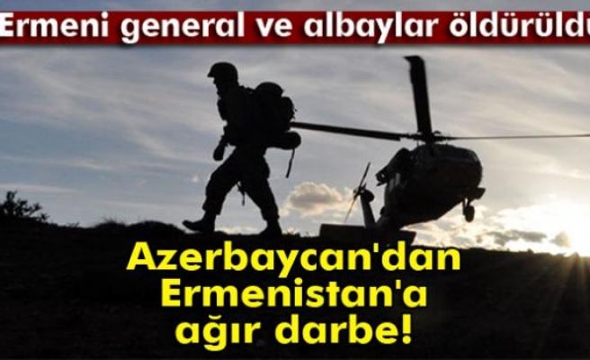 Azerbaycan, Ermenistan'ın Karabağ'daki Komuta Merkezi'ni vurdu