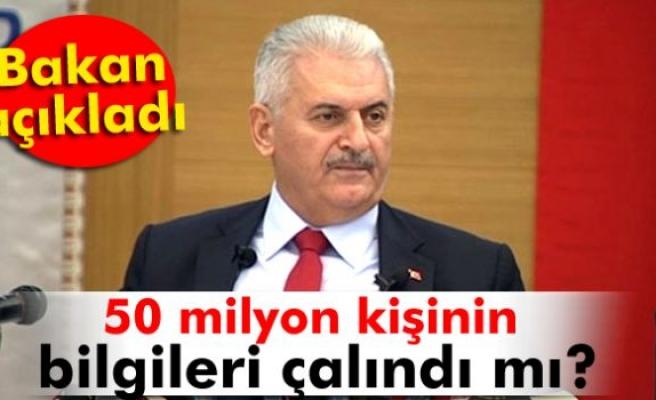Bakan açıkladı! 50 milyon Türk'ün bilgileri çalındı mı?