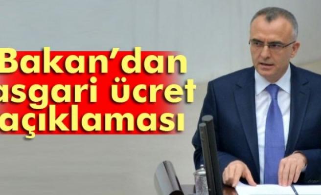 Bakan Ağbal'dan asgari ücrette 'vergi' açıklaması