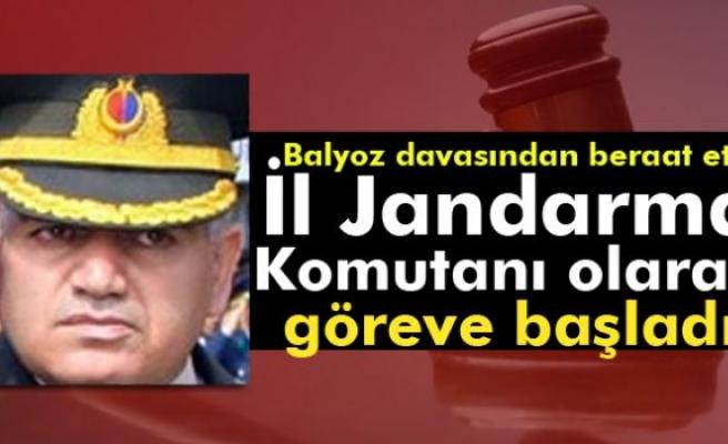 Balyoz davasından beraat etti, Antalya İl Jandarma Komutanı olarak göreve başladı