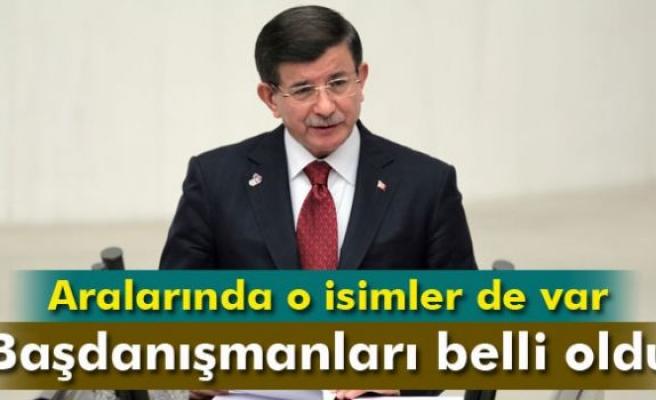 Başbakan Davutoğlu, başdanışmanı olarak 9 yeni ismi görevlendirdi