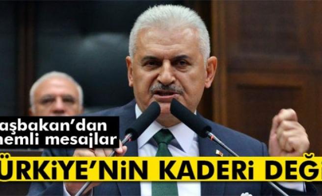 Başbakan Yıldırım: Terör Türkiye'nin kaderi değildir