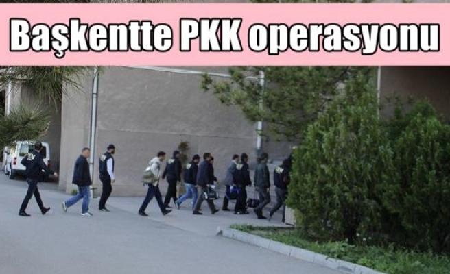 Başkentte PKK operasyonu