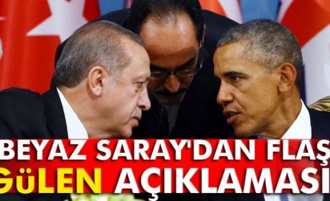 Beyaz Saray'dan flaş Gülen açıklaması