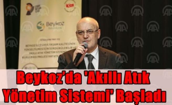 Beykoz'da 'Akıllı Atık Yönetim Sistemi' başladı