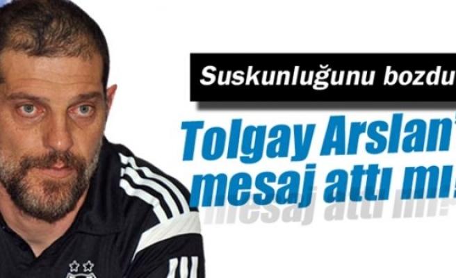 Bilic, Tolgay Arslan'a mesaj attı mı?