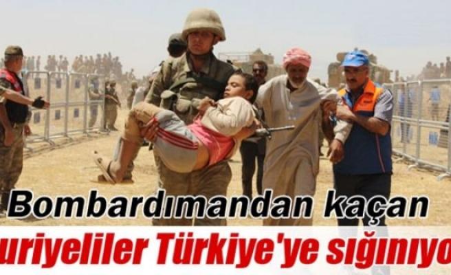 Bin 500 Suriyeli, Türkiye'ye geçiş yaptı