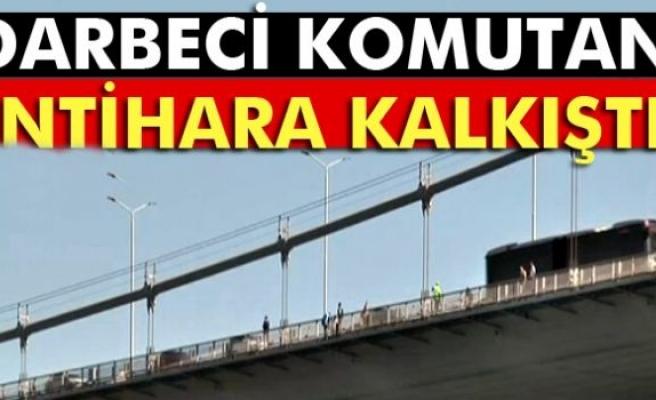 Boğaziçi Köprüsü'nde bir albay intihara kalkıştı