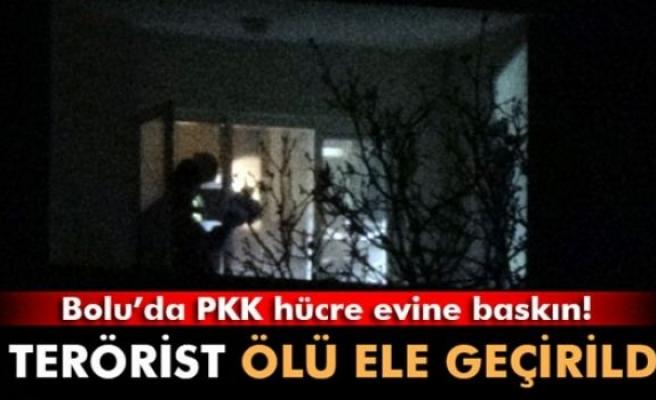 Bolu'da PKK hücre evine baskın: 2 terörist öldürüldü