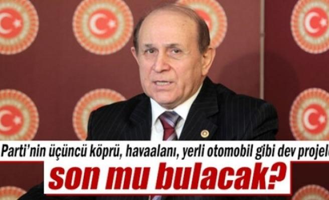 Burhan Kuzu: 'AK Parti'nin projeleri devam edemeyecek'
