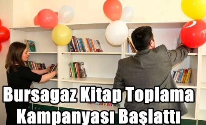 Bursagaz Kitap Toplama Kampanyası Başlattı