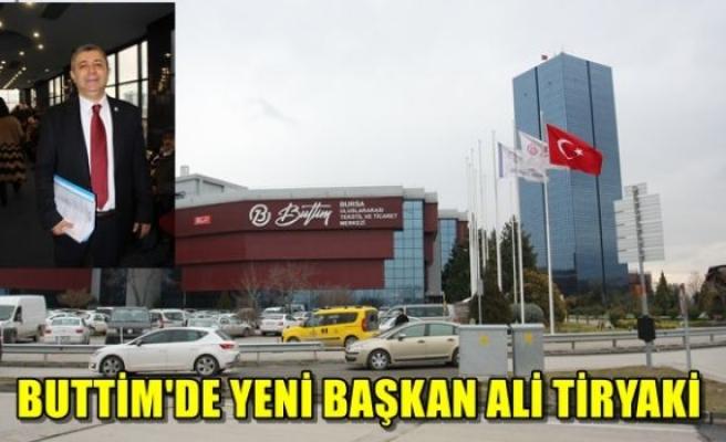 BUTTİM'de yeni başkan Ali Tiryaki