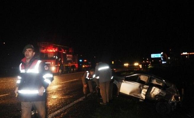 Çaycuma'da Kaza: 2'si Çocuk 4 Yaralı
